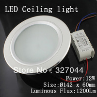 10pcs 12W ceiling lights fixturesLED light LED recessed light LED Celing lighting free shipping