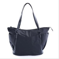 Free delivery service: 2013 new classic black waterproof shoulder bag
