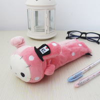 Umi cartoon circus rabbit pencil case stationery bags storage bag prize Free Shipping