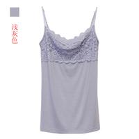 2013 spring lace spaghetti strap women's small vest