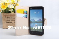 Newest High Quality Wallet Leather Case for XIAOMI M2 Stand Leather Case For XIAOMI Mi2 Phone Free Shipping