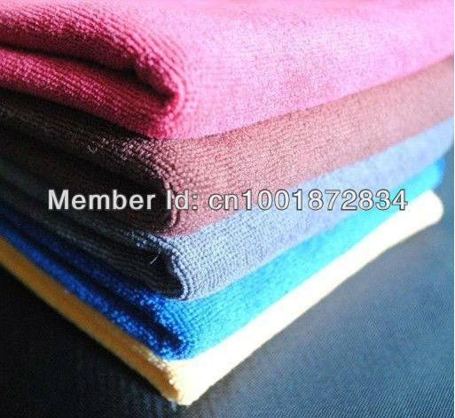 Free Shipping! 10pcs/lot 30cmx30cm Microfiber Car Cleaning Towel Microfibre Detailing Polishing Scrubing Waxing Cloth Hand Towel(China (Mainland))