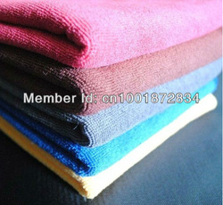Free Shipping! 10pcs/lot 30cmx30cm Microfiber Car Cleaning Towel Microfibre Detailing Polishing Scrubing Waxing Cloth Hand Towel(China (Mainland))