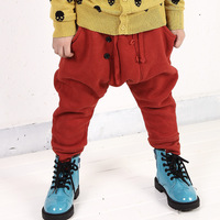 Pants children harem pants male child harem pants child lacing elastic waist 1230