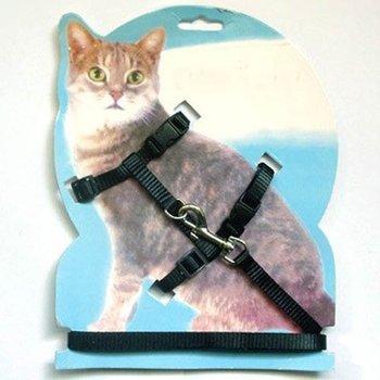 Adjustable Cat Pet Belt Harness Lead Nylon Lead Leash Collar Rope Training Leads