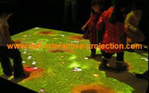 Defi Interactive Floor Projection System /interactive wall projector system software With 70 Effects  for Kids amusement