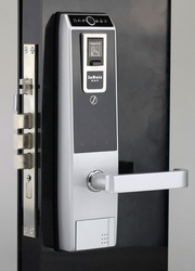 world first fingerprint door lock with video camera sdl8602 silver version(China (Mainland))