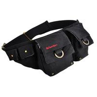 2013 New Waist pack canvas bag chest summer casual fashion outside sport male women's fashion bag bag 3924
