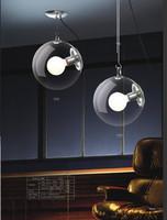 2 pieces 25CM Modern Contemporary Glass Shade  Lighting Pendant Lamp Light Fixture