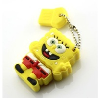 Wholesale 4GB 8GB 16G 32G 64GB 128GB Cartoon Cheap Enough USB 2.0 Memory Flash Pen Drive Free shipping