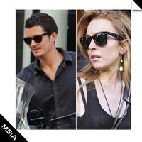 free Shipping B-31 sun glasses star cute vintage black sunglasses Star style men and women general sunglasses