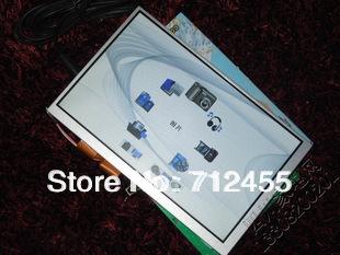 Versandkostenfrei at070tn83 v. 3 7 zoll 800* 480 auto-navigationssystem netbook geführt