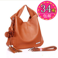 2012 women's handbag flower tassel bag vintage  formal