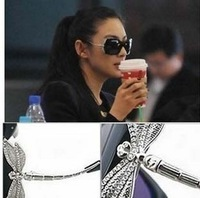 Sunglasses darning-needle diamond sunglasses women's glasses