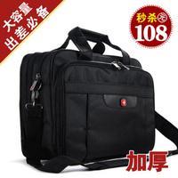 Switzerland saber large capacity business hand travel shoulder computer oblique satchel