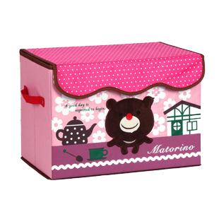 2013hotFinishing Box storage box underwear the blue plaid cartoon embroidery debris storage box children's toys