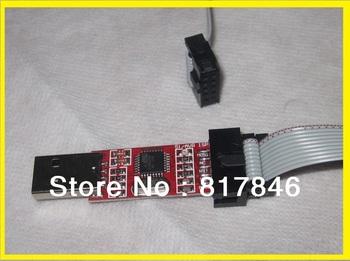 freeshipping 51 Board ISP Downloader AVR Programmer/51 AVR /USB ISP Programmer for ATMEL / 51 AVR for ATMega ATTiny