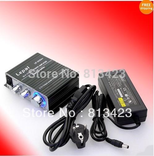 New Lepai Class T Hi-Fi Audio Amplifier Tripath LP-2020A+ Amp 20WX2 Stereo Amp