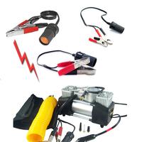 Car battery clip cigarette lighter extension cable high power car hit pump refrigerator electrical appliances