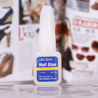 Professional nail art supplies top glue adhesive nail art stick drill diamond special glue 10g