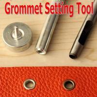 Grommet Installaton Kit Leather Hole Punch Grommet Set Setting Tool Kit