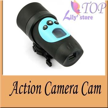 2013 HD 720P Waterproof Sport Helmet Action Camera Cam 1280 * 72030FPS Mini DV ,1.3 Mega Pixels CMOS sensor,Freeshiooing