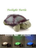 Turtle Night Light Stars Constellation alinaith Animal shape lamp with 3 lights 3 colors kid chritmas gift Free shipping 1P gift