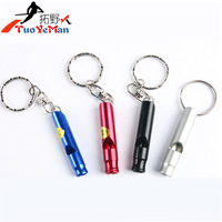 Camping outdoor survival whistle