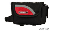 2013 New Cycling Bike Bicycle Black+Red Color Cycling Front Tube Frame Bag Free Shipping