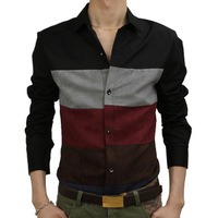 CABBEEN men's clothing spring and autumn 2012 fashion business casual long-sleeve shirt male slim shirts male