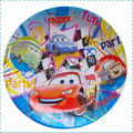 Child birthday party supplies birthday supplies cake pots cartoon paper plate car fistfight