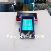 "Wholesale 30pcs/lot  4GB 7th Gen Mp3 & Mp4 Player with 2.0"" LCD & Touch Screen & E-Book & FM & Game & Retail Package"