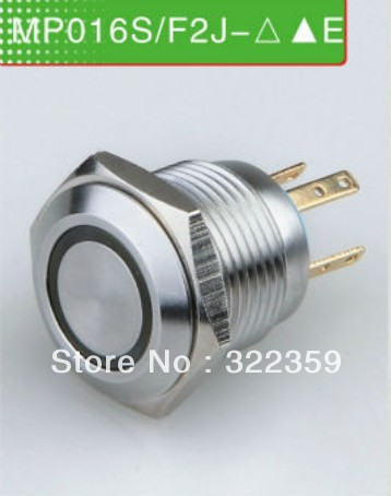 CMP 16mm heavy duty momentary N.O. push button switch , LED illuminated switch(China (Mainland))
