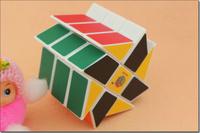 Competitive Speeding 2x2x3 Magic wheels Fisher Cube Magic Puzzle Cube  Brain Teaser Puzzle Children Education Toys