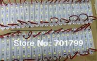 promotion!!!3pcs 5050 SMD LED module,plastic case,WHITE color,DC12V,20pcs a string;75mm*12mm;please advise the color you need
