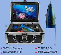 Fishing Camera Set Visible Fishing Finder,Underwater Camera,fishing camera, HD 600TVL video camera, 7inch monitor  15m cable