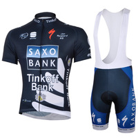2013 new!!! SAXO BANK #1 cycling jersey and bib shorts / short sleeve jerseys pants bike bicycle wear set COOL MAX