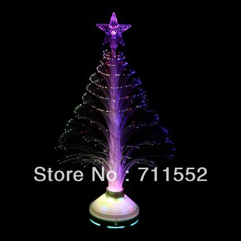 E27 3W LED Colorful Christmas tree fiber optic lights for Christmas/wedding/easter/halloween Party/Bars/KTV decorative effect(China (Mainland))