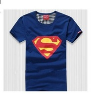 Superman T-Shirt Lovers4 Colors Free Shipping M L XL XXL xxl Summer 100% Cotton active fashion casual Women's Men's novelty
