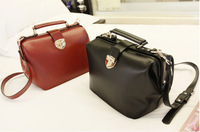Free shipping 2013 Fshion ladies vintage bag doctor bag women messenger bags casual handbags