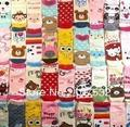 20pair/lot hot sale free shipping Promotion high quality baby socks girl boy children cotton sock ,mix color