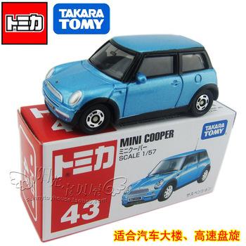 Dume tomy tomica alloy car models mini cooper boxed 43