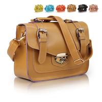 Fashion women's handbag 2013 doctor bag camel handbag messenger small  bag