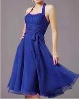 2013 Hlater Royal Blue Bridesmaid Dress Women Sexy Ladies Party Gown Skirts XS S M L XL XXL XXXL XXXXL