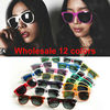 Hot sale! 12 Colors, 2012 Fashion Sunglasses Men Women Sun Glasses Brand Designer Sunglasses Sport