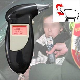 Free Shipping, Key Chain Alcohol Tester, Digital Breathalyzer, Alcohol Breath Analyze Tester (0.19% BAC Max) , Wholesale