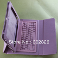 """Free Shipping For Samsung Galaxy Note 10.1"""" P7500 P7510 P5100 P5110 N8000 Bluetooth Keyboard Stand Leather Case"""