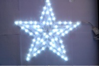 2013 New style  LED string lights(  Big Five-pointed star lights)