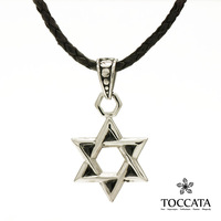 Vintage david hexagram male necklace titanium steel pendant fashion male accessories