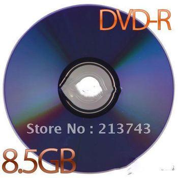 1Pcs New 8X Blank Recordable Printable DVD-R DVDR Blank Disc Disk 8X Media 8.5GB
